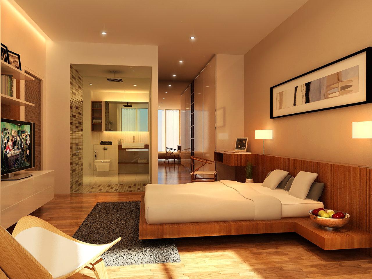 Minh họa căn hộ 4 phòng ngủ - Nguồn Internet