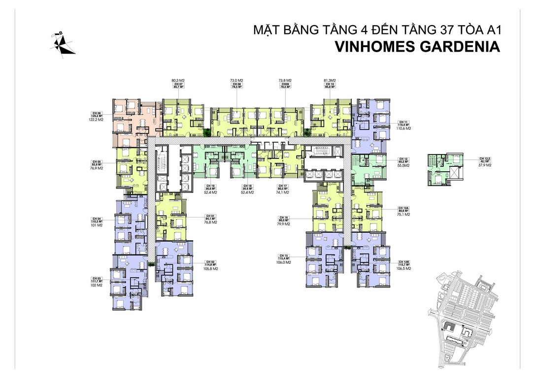 mat-bang-toa-A1-vinhomes-gardenia (Copy)