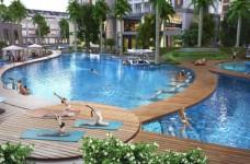 Bể bơi trung tâm dài 50m tại The Arcadia